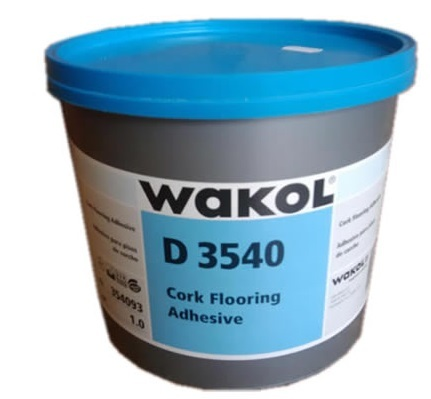 Клей для пробки Wakol D 3540 - 0,8кг, 2,5кг, 5 кг