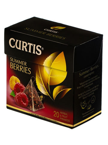 Чайный напиток «Curtis» Summer Berries 20 пирамидок