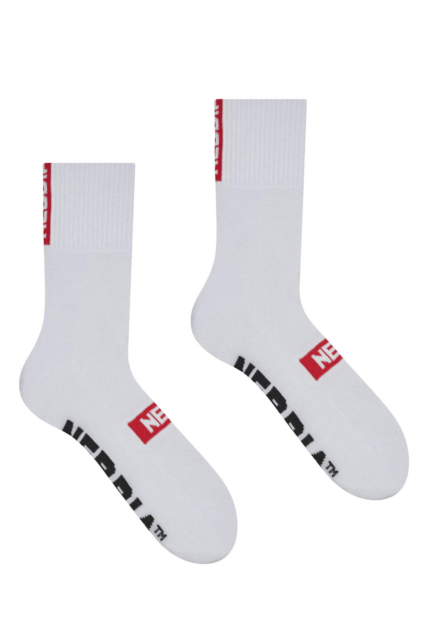 Спортивные носки Nebbia Extra Mile crew socks 103 white
