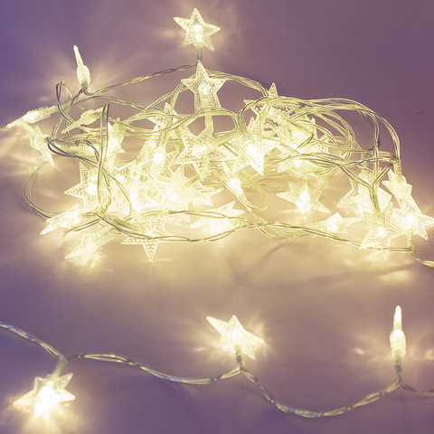 Гирлянда светящаяся STARS