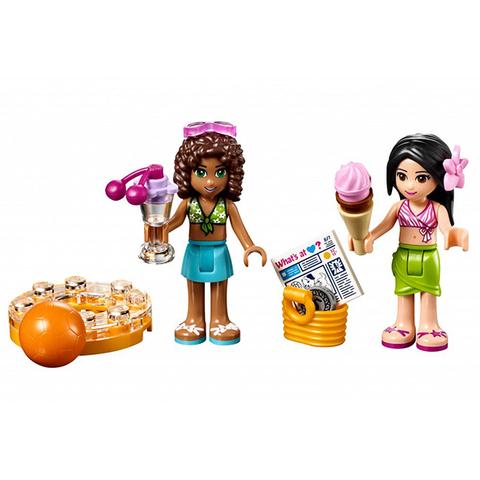 LEGO Friends: Летний бассейн 41313 — Heartlake Summer Pool — Лего Френдз Друзья Подружки