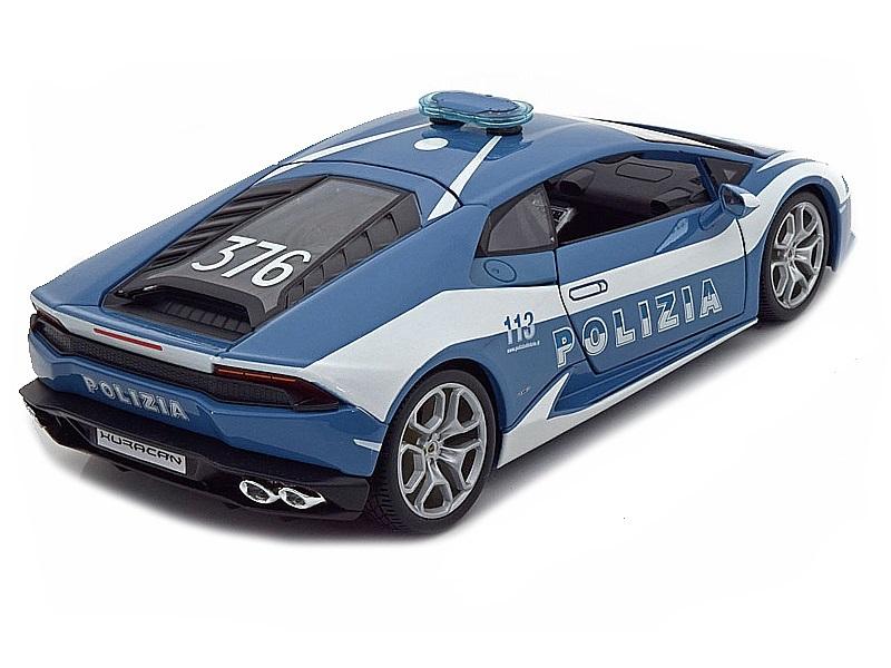 Коллекционная модель Lamborghini Huracan LP610-4 2014 Police