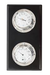 Термометр/барометр Secret De Maison ( mod. 37811 ) — никель/черный