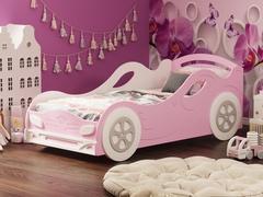 Кровать-машина  Омега-12 МДФ девочка