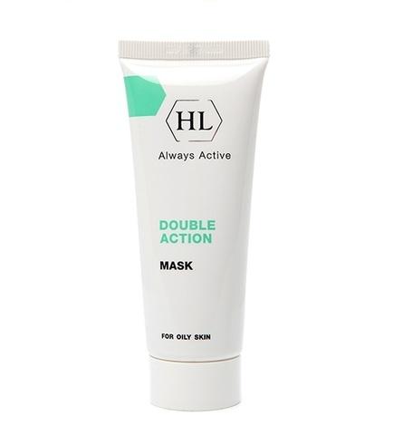 Маска очищающая для жирной проблемной кожи Holy Land Double Action Mask, 70 мл