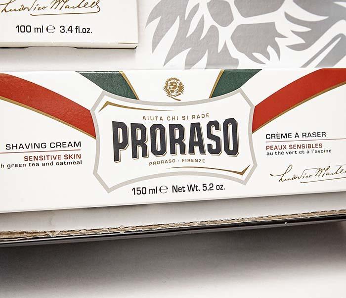 CARE159-1 Подарочный бритвенный набор PRORASO VINTAGE SELECTION TOCCASANA фото 08
