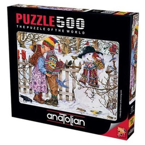 Puzzle İlk Öpücük. First Kiss 500 pcs