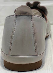 Лодочки женские туфли без каблука Wollen G036-1-1545-297 Vision.