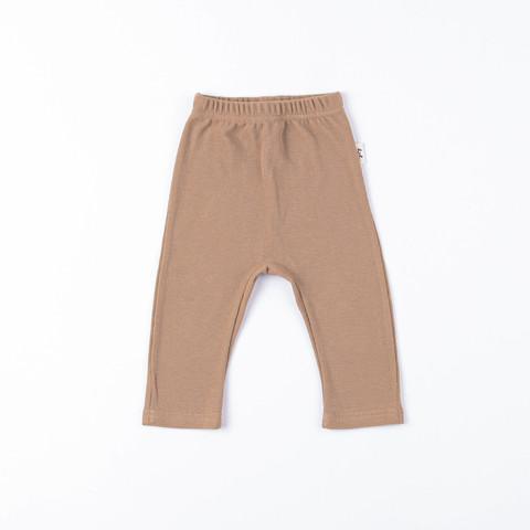 Ribbed leggings 0+, Desert Sand