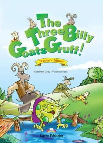 the three billy goats gruff. Книга для чтения.