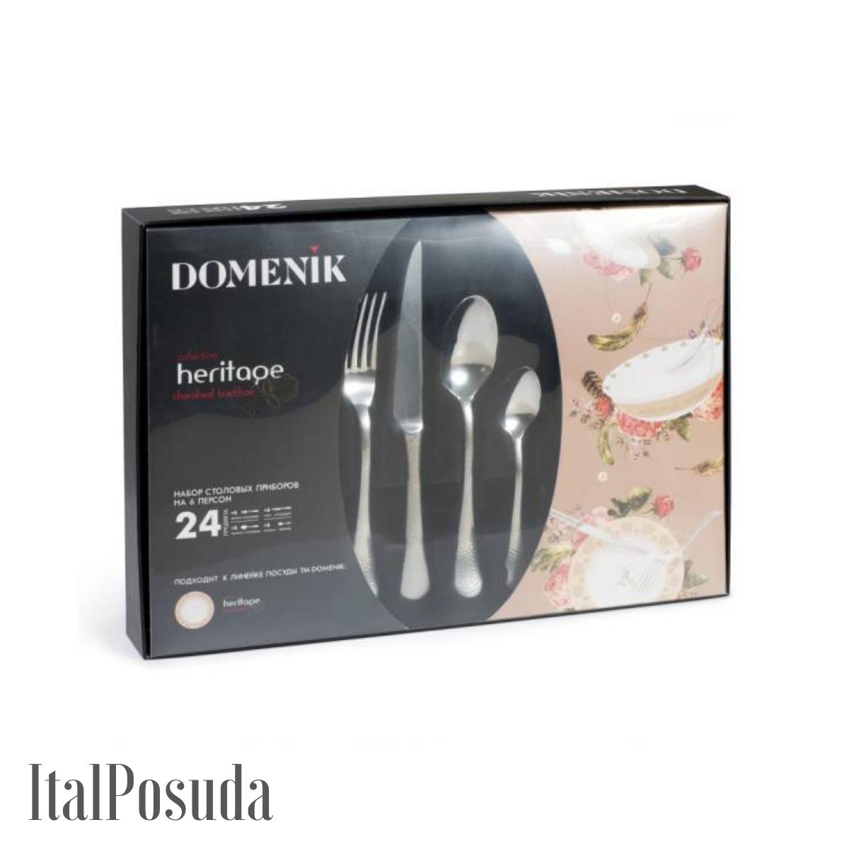 Комплект столовых приборов DOMENIK HERITAGE, 24 предмета
