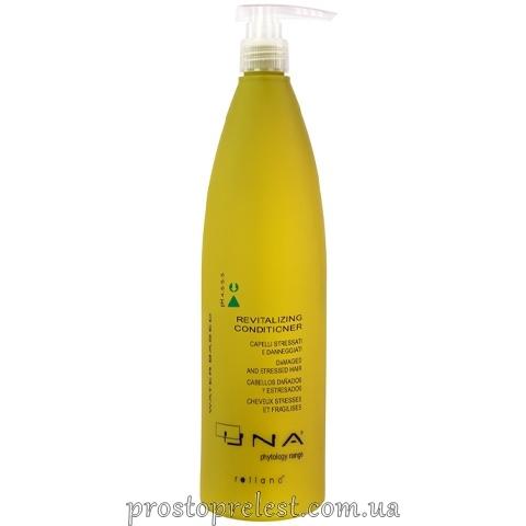 Rolland Una Revitalising Conditioner - Кондиционер для поврежденных и ослабленных волос