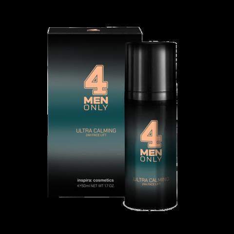 INSPIRA Успокаивающий лифтинг-крем для лица 24-часового действия 4 Men Only | Ultra Calming 24h Face Lift