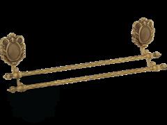 Полотенцедержатель двойной 50см. Migliore Cleopatra ML.CLE-60.723