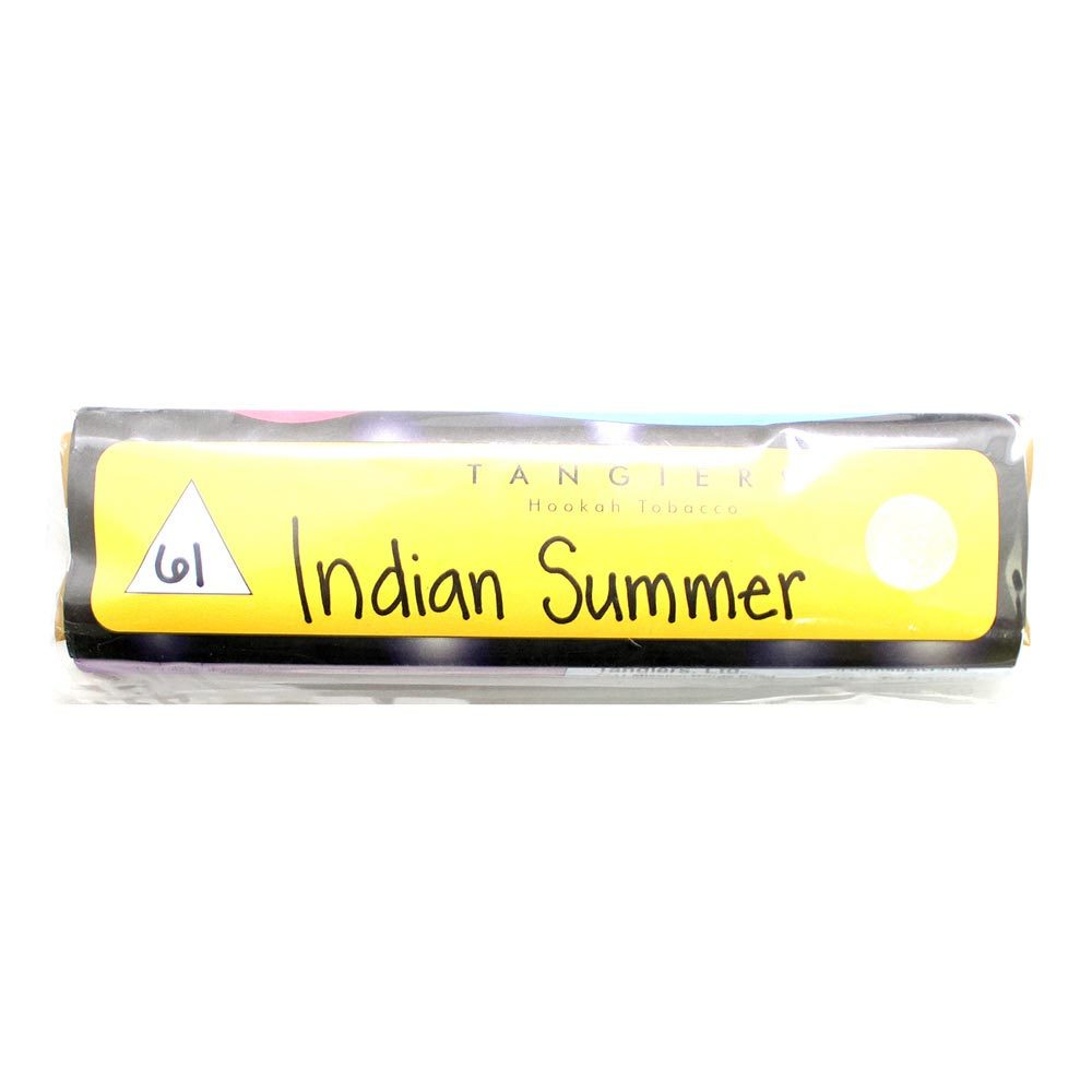 Табак для кальяна Tangiers Noir (желт) 61 Indian Summer 250 гр.