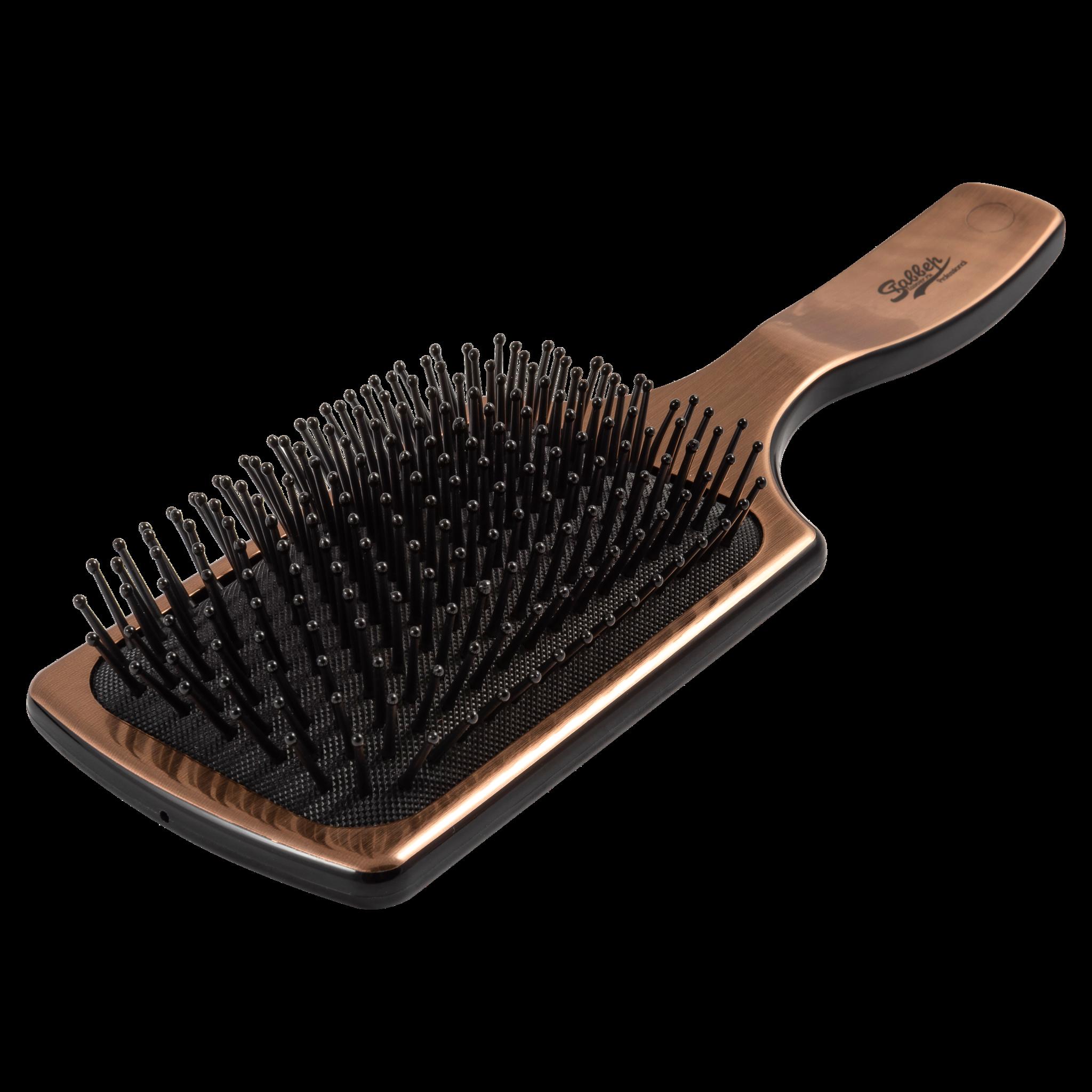 Щетка-лопата для волос Stavver Bronze цвет бронзовый Арт ST16