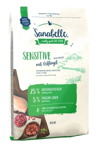 Sanabelle (10 кг) Sanabelle Sensitive with Poultry с птицей