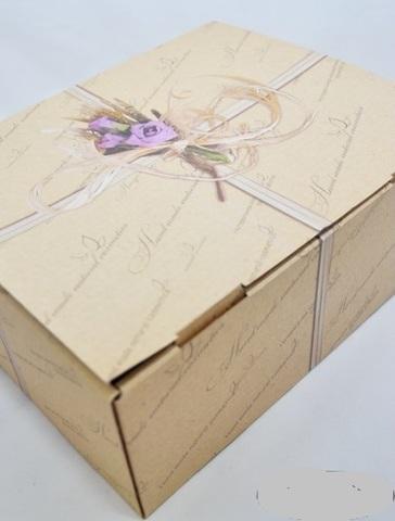 NATURAL COSMETICS Коробка подарочная БОЛЬШАЯ 25*20,5*10 см