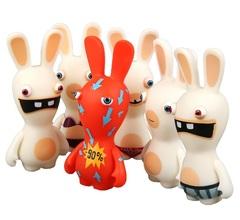 Фигурки Бешеные кролики