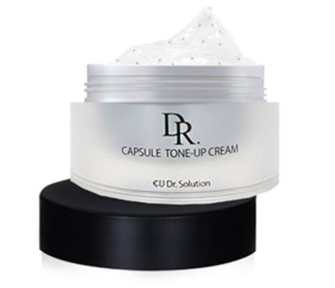 Купить CU SKIN CU: DR. SOLUTION Capsule  Tone-Up Cream - Обновляющий крем с пептидами и витаминами для лица и глаз