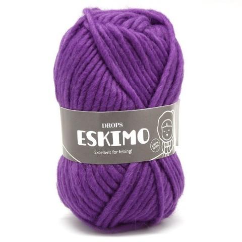 Пряжа Drops Eskimo 04 фиолетовый