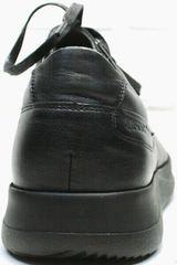 Мягкие кроссовки для ходьбы осенне весенние мужские Ikoc 1725-1 Black.