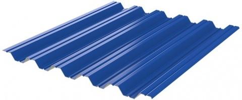 Профнастил НC35x1060 мм RAL 5005 синий