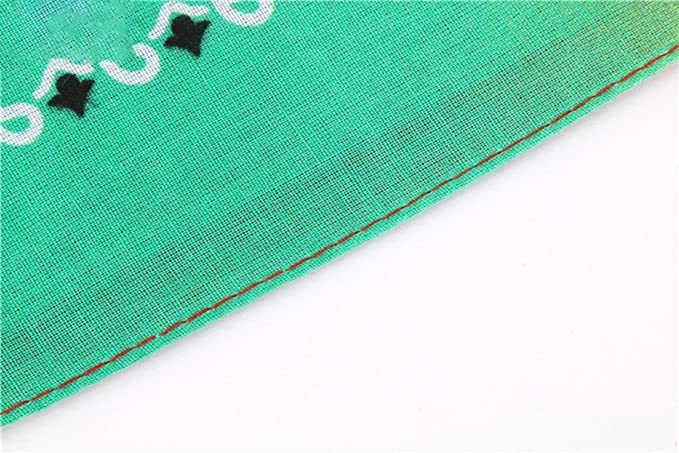 Бандана зеленый градиент фото