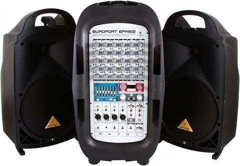 Звукоусилительные комплекты Behringer EPA900
