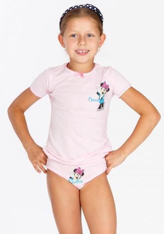 Трусики и футболка для девочки с Minnie Mouse