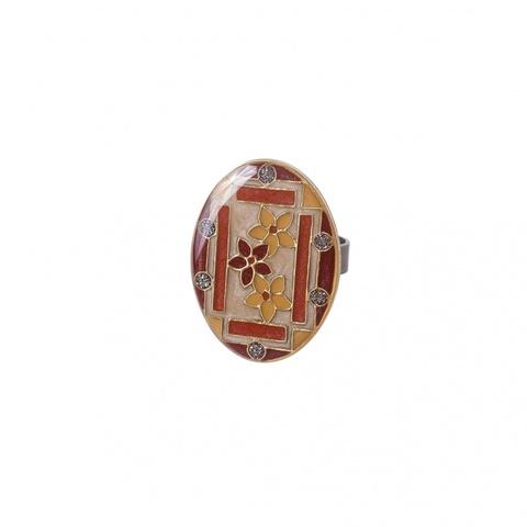 Кольцо Незабудки K75802-2 BR
