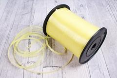 Лента простая (0,5см*500м) Лимонный