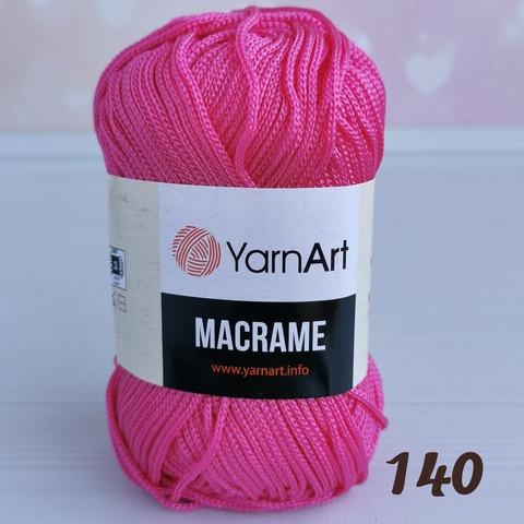 YARNART MACRAME 140, Фуксия