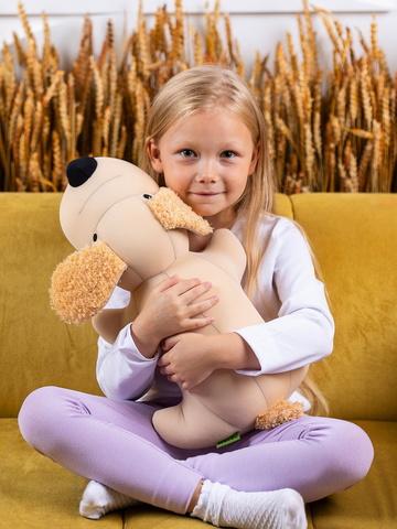 Подушка-игрушка антистресс Gekoko «Пес Бежик»-2