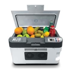 Термоэлектрический автохолодильник AVS CC-24WBC 24л 12V/24V/220V (USB)