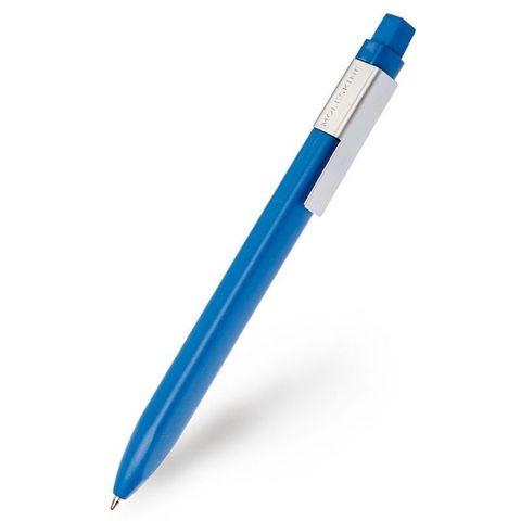 Ручка шариковая Moleskine CLASSIC CLICK (EW51CB1110) авт. 1мм прямоугол. темно-синий черные чернила блистер