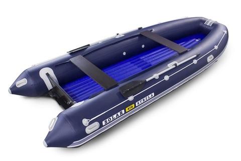 Надувная ПВХ-лодка Солар - 470 Strela Jet Tunnel (синий)