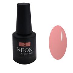 Розовая камуфлирующая база для ногтей NEON под гель лак