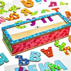 Игровой набор Составляем слова Smile Decor П611