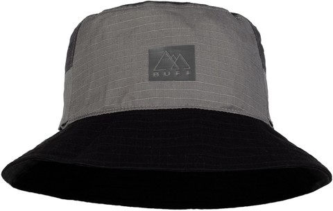 Панама хлопок Buff Sun Bucket Hat Hak Grey фото 1