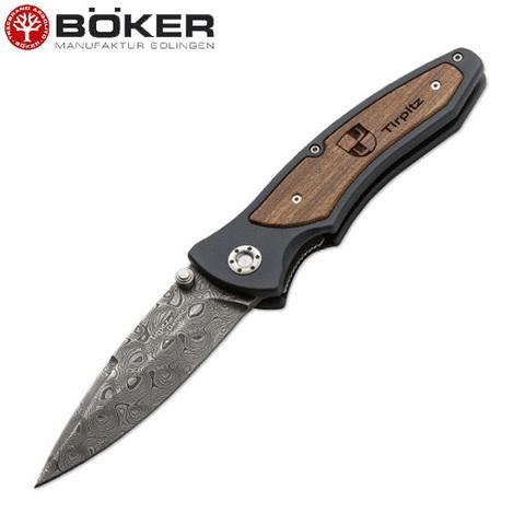 Нож Boker модель 110190DAM Tirpitz Damast
