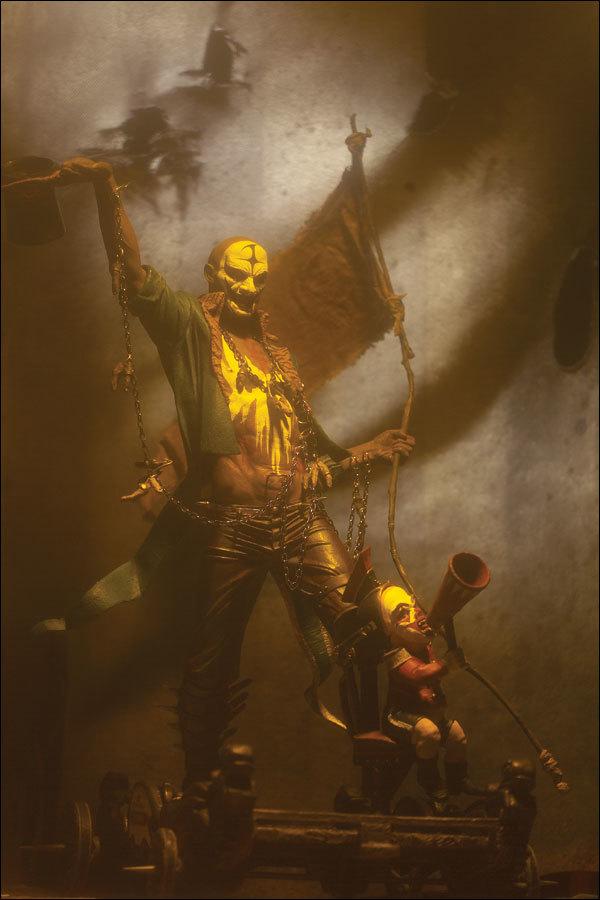 Парад Монстров Клайв Баркер фигурка Том Реквием — Clive Barker's Infernal Parade Tom Requiem
