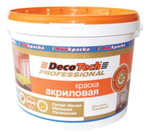 DecoTech/Декотек Краска АКРИЛОВАЯ