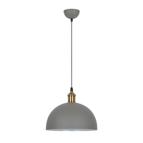 Подвесной светильник CAMELION Loft PL-601L C68 серый + старая медь
