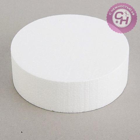 Основа флористическая - диск из пенопласта 15*5 см.