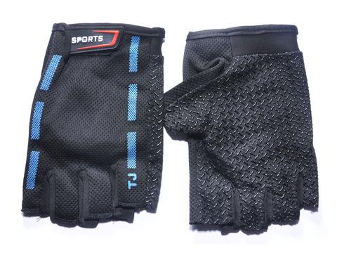 Перчатки для велосипедистов. Материал: трикотажная ткань. JZ-4153