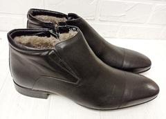 мужские зимние классические ботинки