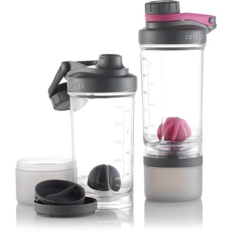 Шейкер Contigo Shake & Go (0,65 литра), розовый