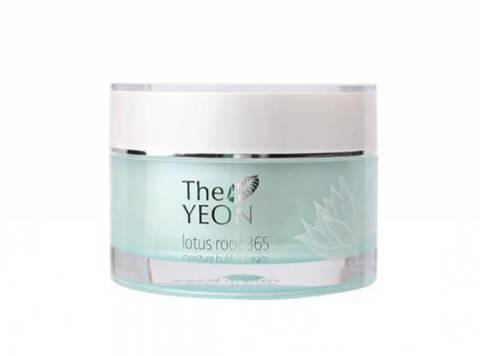 The YEON Lotus Root 365 Moisture Bubble Cream увлажняющий крем с экстрактом корня лотоса