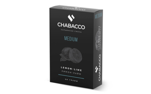 Чайная смесь Chabacco Medium 50 г - Lemon-lime (Лимон-лайм)